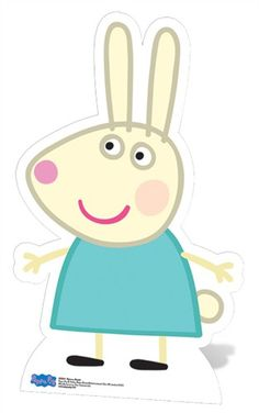 Copy of Rebecca Rabbit Peppa Pig Personajes, Peppa Pig Wallpaper, Peppa Pig Printables, Peppa Big, Rebecca Rabbit, Aniversario Peppa Pig, Cumple Peppa Pig, Peppa Pig Family, Pig Character