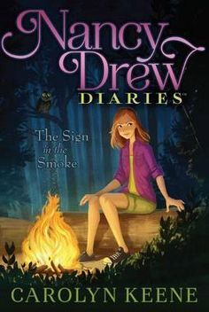 """""""Nancy Drew Diaries Book The Sign in the Smoke"""" by: Carolyn Keene. Nancy and her friends are faced with another chilling mystery in this twelfth book of the Nancy Drew Diaries, a fresh approach to the classic mystery series. Best Mysteries, Cozy Mysteries, Nancy Drew Diaries, New Books, Books To Read, Children's Books, Nancy Drew Books, Nancy Drew Mysteries, 10 Year Old Girl"""