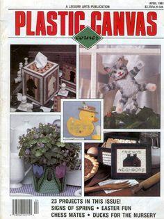 Plastic Canvas Corner April 1991 - Mly AgH - Álbuns da web do Picasa