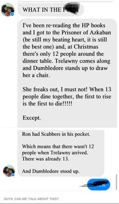 22 times Tublr's Harry Potter theories blew our minds - some of these are pretty good Harry Potter Love, Harry Potter Universal, Harry Potter Fandom, Harry Potter Tumblr Funny, Harry Potter Theories, Potter Facts, Fandoms, Hogwarts, Must Be A Weasley