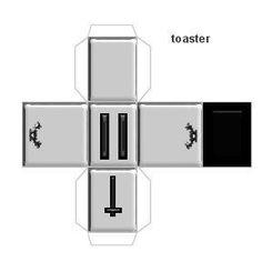 Miniature Toaster printable