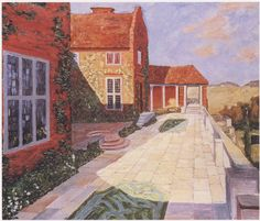 """The Terrace, Lympne,"" by Winston Churchill"