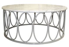 Ovales Cocktail Table, Gray on OneKingsLane.com