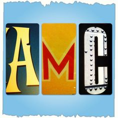 Can you guess what movie posters these letters are from? Here's a hint - one is new (not even released yet), one is old, and one is a classic!