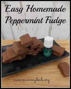 Young Living Essential Oils: Peppermint Fudge Recipe