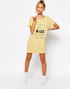 Image 4 of Adolescent Clothing It Started With A Kiss Nightee