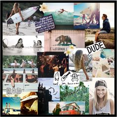 Its a surf life. by live-aloha on Polyvore
