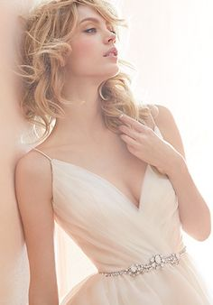 Blush by Hayley Paige 1453/Opal Wedding Dress - The Knot  $2000