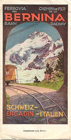 bernina train: I would love to see Switzerland this way