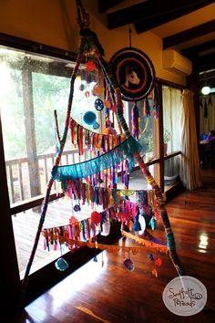 Our Soulfelt Threads solstice tree 2013 www.facebook.com/SoulfeltThreads