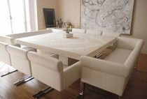 Contemporary concrete table