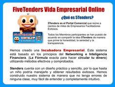 FiveTenders · ¿Que es 5Tenders?.  Es una incubadora Empresarial,   http://www.5tenders.com/affiliates/uid/socios_1