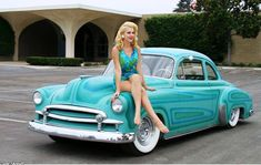 Cars & girls ... - Page 291 Car Girls, Pin Up Girls, Brighton East Sussex, Pin Up Car, Rockabilly Cars, Rockabilly Fashion, Beautiful Women Pictures, Beautiful Ladies, Hot Rides