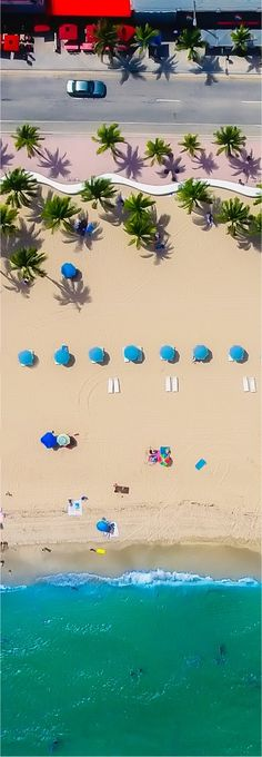 Beach aerial photo by drone, a compact 4K drone is ideal for travel capturing stunning images of your vacations and holidays ;-)