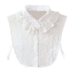 DDLBiz Women Lace Stand Collar Vintage Fake Shirt Collar Necklace Choker Collar White: br brPackage Included: br x fake collar Lace Collar, Collar Blouse, Collar Top, White Collar, Faux Col, Half Shirts, Shirt Bluse, Chiffon, Sweater Outfits