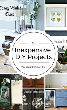 25 things you can make yourself to save money including home decor creative and inexpensive diy projects you could do today to freshen up your home its save solutioingenieria Choice Image