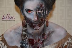 zombie by Lillac Maquiagem Artística #bylillac #livienullmann