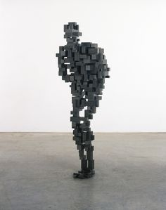 Antony Gormley B.1950 GUT II variable mild steel blocks 160 by 53.3 by 68cm.; 63 by 21 by 26 3/4 in. Executed in 2007, this work is unique.
