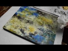 Cold Wax Painting Demonstration 3 - YouTube