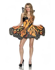 Monarch Butterfly Adult Womens Costume