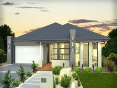 Photo of a brick house exterior from real Australian home - House Facade photo 1315415
