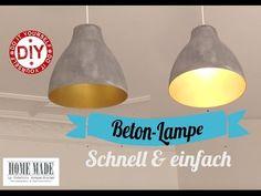 Trend Betonlampe selber bauen Lampe aus Beton DIY Kreativ Beton Lampe selber