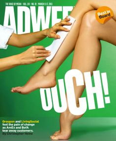 #Adweek cover - March 11, 2013