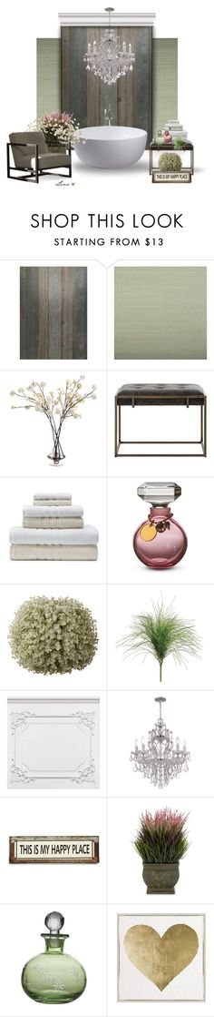 """""""Interior"""" by lenadecor ❤ liked on Polyvore featuring interior, interiors, interior design, home, home decor, interior decorating, NLXL, Ballard Designs, John-Richard and Matouk"""