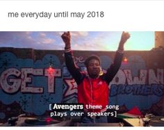 waiting for infinity war. accurate. <> yep. And I graduate on May 4th. Which also happens to be Star Wars Day....