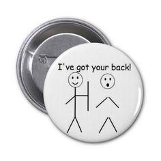 I've got your back buttons