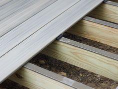 DIY deck building: How to waterproof wood framing using joist tape & c - Imus Industries, Inc. Building Design Plan, Deck Building Plans, Deck Plans, Cool Deck, Diy Deck, Laying Decking, How To Waterproof Wood, Deck Construction, House Deck
