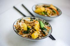 Vegan Pineapple Fried Rice!