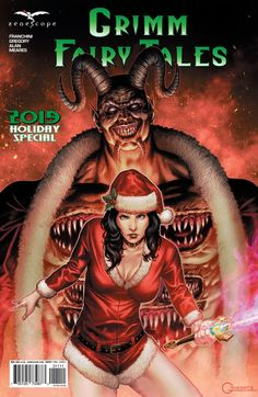 Full issue of Grimm Fairy Tales 2019 Holiday Special Issue 1 online Grimm Series, Grimm Fairy Tales, Horror Comics, Comics Online, Pin Up Art, Dark Horse, Famous Artists, Artist Art, Art History