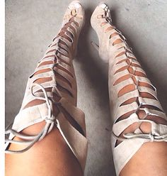 Lace up heel boots! Where can I get these!!??