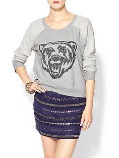 Free People Big Bad Varsity Sweatshirt | Piperlime #sicem