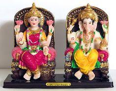 Shower Luck and Prosperity with Laksmi and Ganesha Idols: Religious Idol as Diwali Gifts ~ Diwali Celebrations 2012
