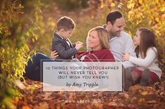 10 Things Your Photographer Will Never Tell You (But Wish You Knew!) by Amy Tripple | #forphotographers #NAPCP