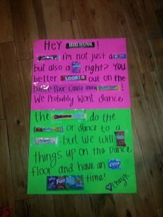 Cute way to answer boy to.a dance!