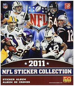 Wooky NFL 2011 Sticker Album ** Details can be found by clicking on the image. (Note:Amazon affiliate link) #ToysGames2To4Years