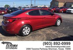 https://flic.kr/p/GoxD35 | Congratulations Britni on your #Hyundai #Elantra from Ronnie Peters at Texoma Hyundai! | deliverymaxx.com/DealerReviews.aspx?DealerCode=L967