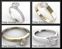 Engagement RingWedding BANDPAYMENT PLAN The by Vidarjewelry
