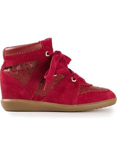 Isabel Marant 'Betty Stainer' Hi-Top Trainer