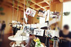 ウェルカムスペースの装飾 |nico◡̈*blog 手作り結婚式