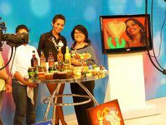 En el Canal de TV - entrevista antes de la Feria Integral de la Mujer!