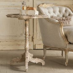 Eloquence Corsican Side Table Good choice for the living room side table or somewhere else? Also love that chaise! Something to consider for the bedroom if we end up not doing a wardrobe next to the sliding glass door. Looks great with the side table too.