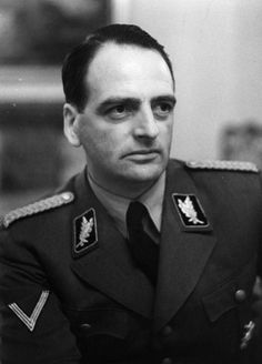 Edmund Veesenmayer was a top Nazi who played an important role in the persecution and murder of Croatian and Serbian Jews. On March 19, 1944 he became Reich plenipotentiary in Hungary after the German occupation. After the war he was sentenced to 20 years but he was released in Dec 1951. It was estimated that he served exactly 6 minutes for each murder that he was responsible for. Veesenmayer died of heart failure in 1977.
