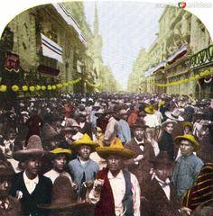 Fotos de Ciudad de México, Distrito Federal, México: Celebración en la Calle de San Francisco