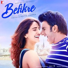 The #Befikre Mode on !! Lets Be BEFIKRE !! New poster....9th Dec release !  #RanveerSingh #VaaniKapoor #AdityaChopra #YashRajFilms