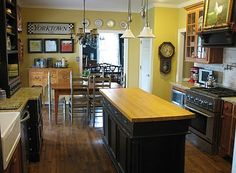 The reNOUNed Nest: Kitchens: Islands Of Many Colors
