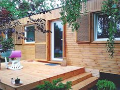 Manufactured Home Renovation, Small Spaces, Houses, Patio, Outdoor Decor, Home Decor, Homes, Decoration Home, Room Decor